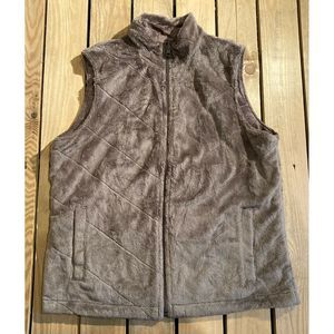 Columbia Reversible Fleece/corduroy vest